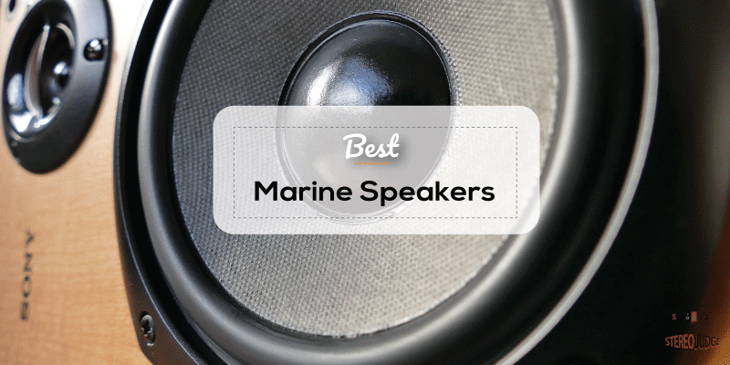 "4-Speakers Kicker 6.5/"" 195W Marine Audio Coaxial Color LED Lights Charcoal Grill"